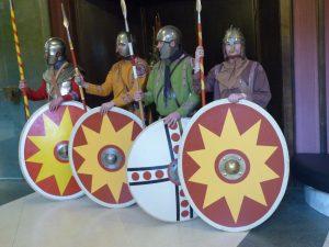 Legionäre in der Stadthalle