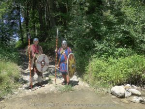 2 Legionäre auf Patroullie