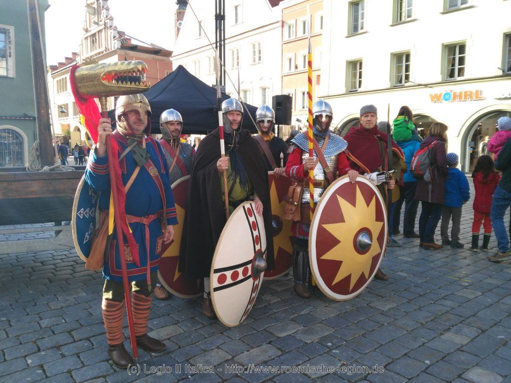 Straubing 2019 Abordnung der Legio II Italica